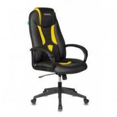 Геймерское кресло VIKING-8N/BL-YELL черный/желтый